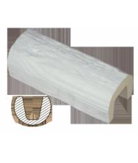 Балка полиуретановая EF 205 белая (17х12,5)