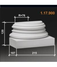 База к полуколонне диаметром 158 мм 1.17.900 (Европласт)